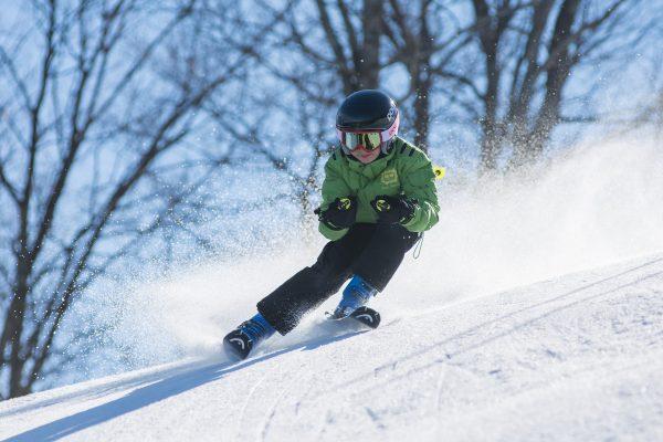 Tschappina Skigebiet Familien Schweiz